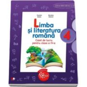 Limba si literatura romana. Caiet de lucru pentru, clasa a IV-a - Auxiliar in conformitate cu programa scolara