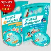 Muzica si miscare, manual pentru clasa a IV-a, Semestrul I si Semestrul II (Lacramioara-Ana Pauliuc) - Contine CD cu editia digitala