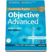 ODell Felicity - Objective Advanced Students Book with Answers with CD-ROM 4th Edition - Manual pentru clasa a XI-a cu raspunsuri si CD