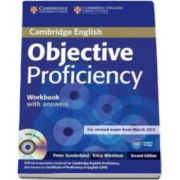 Peter Sunderland - Objective Proficiency 2nd Edition Workbook without answers with Audio CD - Caietu elevului pentru clasa a XII-a, fara raspunsuri (Contine CD Audio)
