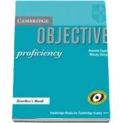 Annette Capel - Objective Proficiency Teachers Book - Manualul profesorului pentru clasa a XII-a