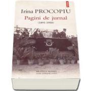 Pagini de jurnal (1891-1950). Traducere din limba franceza, introducere, note si comentarii de Georgeta Filitti