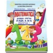 Set - Matematica manual pentru clasa a III-a, Semestrul I si Semestrul II - Include CD multimedia - Autori: Rodica Chiran si Mihaela Ada Radu