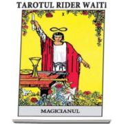 Tarotul Rider Waite - Include o brosura cu instructiuni si setul complet de 78 de carti de joc color (22 din Arcana Mare si 56 din Arcana Mica)