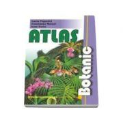 Atlas botanic - cu planse color. Editie cu coperti cartonate