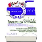Bacalaureat 2017, Limba si literatura romana profil real - 76 de variante de subiecte pentru proba scrisa si 30 de variante pentru proba orala dupa modeul M. E. N. C. S.