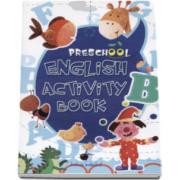 Caiet de engleza pentru prescolari - CUVINTE - School English Activity Book