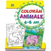 Coloram animalele - Pentru 4-6 ani