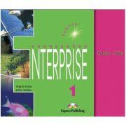 Virginia Evans, Curs de limba engleza. Enterprise 1 Beginner. Class audio CDs - Setul contine 3 cd-uri