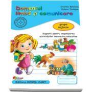 Domeniul limba si comunicare. Caiet pentru gradinita, grupa mijlocie - Sugestii pentru organizarea activitatilor instructiv-educative (Editie 2015)