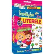Invatam prin joc literele - Carti de joc educative