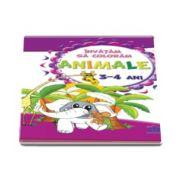 Invatam sa coloram Animale - Pentru 3-4 ani