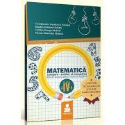 Matematica. Culegere - Auxiliar pentru clasa a IV-a, semestrul I - Dumitru D. Paraiala