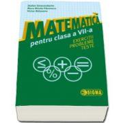 Stefan Smarandache - Matematica pentru clasa a VII-a. Exercitii. Probleme. Teste