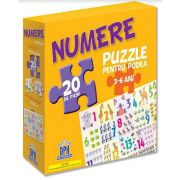 Numere - Puzzle pentru podea