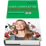 Curs complet de limba engleza. Manual cu exercitii si aplicatii. Pons - Cursul este completat de doua CD-uri audio