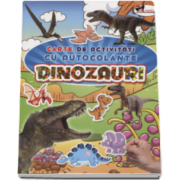 Dinozauri - Carte de activitati cu autocolante