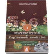 Dumitru D. Paraiala - Matematica si explorarea mediului - auxiliar clasa I, varianta C - Semestrul II (2015)