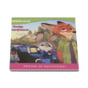 Disney - Zootropolis. Judy in actiune - Jocuri si activitati