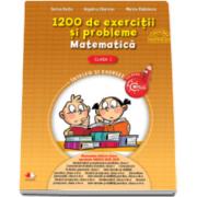 Angelica Gherman - 1200 de exercitii si probleme de Matematica, pentru clasa I
