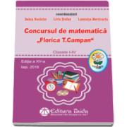 Doina Nechifor, Concursul de matematica Florica T. Campan, pentru clasele I-IV. Editia a XV-a
