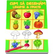 Cum sa desenam fructe si legume (Ilustratii de Dan Negrut)
