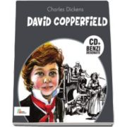 Charles Dickens - David Copperfield - Carte cu CD si benzi desenate