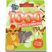 Disney - Garda felina. 1000 de autocolante - Peste 60 de activitati antrenante