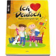 Ich liebe deutsch. Dictionar ilustrat pentru copii, german-roman (Ilustratii de Dan Negrut)