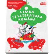 Limba si literatura romana, manual pentru clasa a IV-a. Semestrul al II-lea - Contine CD - Alina Radu si Roxana Jeler