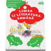 Limba si literatura romana, manual pentru clasa a IV-a. Semestrul I - Contine CD - Alina Radu si Roxana Jeler