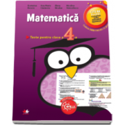 Matematica. Teste pentru Evaluarea Nationala, clasa a IV-a (Ana Maria Canavoiu)