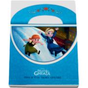 Disney - Regatul de gheata. Anna si Elsa - Vremea copilariei (Posetuta)
