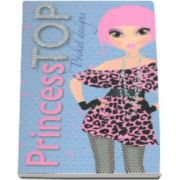 Pocket designs - Princess TOP - bleu