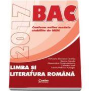 Mihaela Daniela Cristea, Bacalaureat 2017. Limba si literatura romana (Auxiliar in conformitate cu noile modele stabilite de MEN)