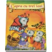 Capra cu trei iezi - Ilustratii Catalin Nedelcu (format A4)