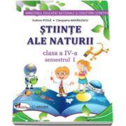 Stiinte ale naturii manual pentru clasa a IV-a, semestrul I si semestrul al II-lea - Tudora Pitila si Cleopatra Mihailescu - Fara CD-uri, nota editurii.