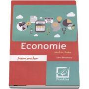 Savel Mihailescu, Memorator de Economie pentru liceu. Editie revizuita