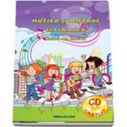 Adina Grigore, Muzica si miscare caiet de lucru pentru clasa a IV-a - Contine CD Gratuit