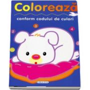 Coloreaza, conform codului de culori