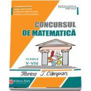 Ionel Nechifor, Concursul de matematica Florica T. Campan, pentru clasele V - VIII - Editia a XVII-a (2017)