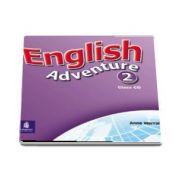 English Adventure Level 2 Class CD (Anne Worrall)