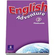 English Adventure Level 2 Flashcards (Anne Worrall)