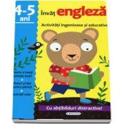 Invat engleza. Activitati ingenioase si educative, pentru varsta de 4-5 ani. Cu abtibilduri distractive