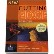 Sarah Cunningham, New Cutting Edge Intermediate Students Book and CD-Rom Pack (New Edition)