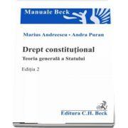 Marius Andreescu, Drept constitutional. Teoria generala a Statului. Editia 2