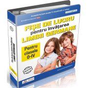 Cristina Lucia Calinescu - Fise de lucru pentru invatarea limbii Gemane - Pentru clasele 0 - IV
