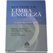 Tania Musina, Sinteze de Limba Engleza in 2000 de teste-grila