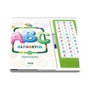 ABC Alfabetul - Asculta si invata - 33 de butonase cu sunete (Varsta recomandata 4-6 ani)