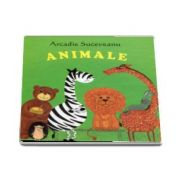 Animale - Pliant cartonat cu imagini color (Varsta recomandata: 1-3 ani)